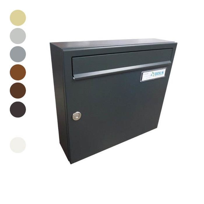 A-01 Surface-mounted letterbox in RAL colours