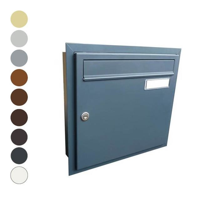 A-01 Flush-mounted letterbox different RAL colours