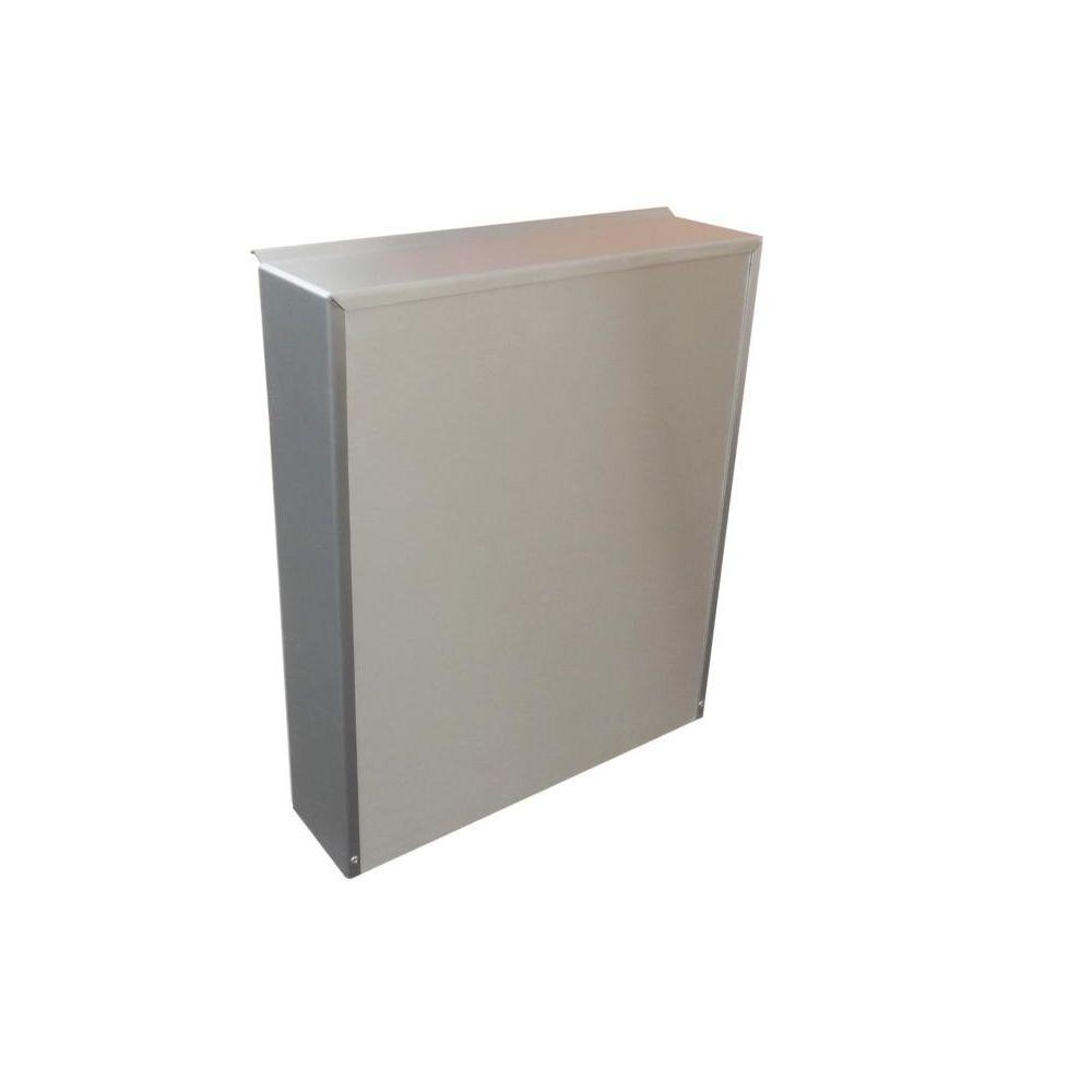 a 01 edelstahl aufputz briefkasten mit klingel sprechsieb 249 95. Black Bedroom Furniture Sets. Home Design Ideas