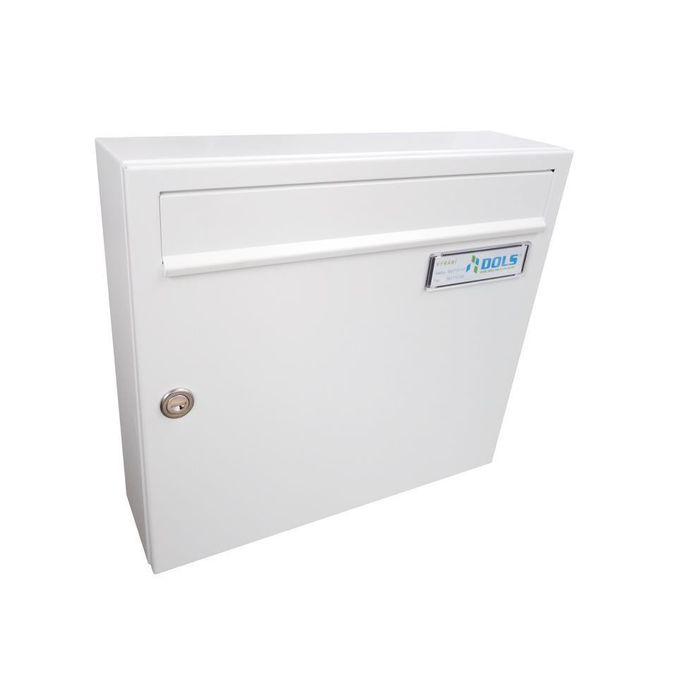 A-01 Surface-mounted letterbox traffic white (RAL 9016)