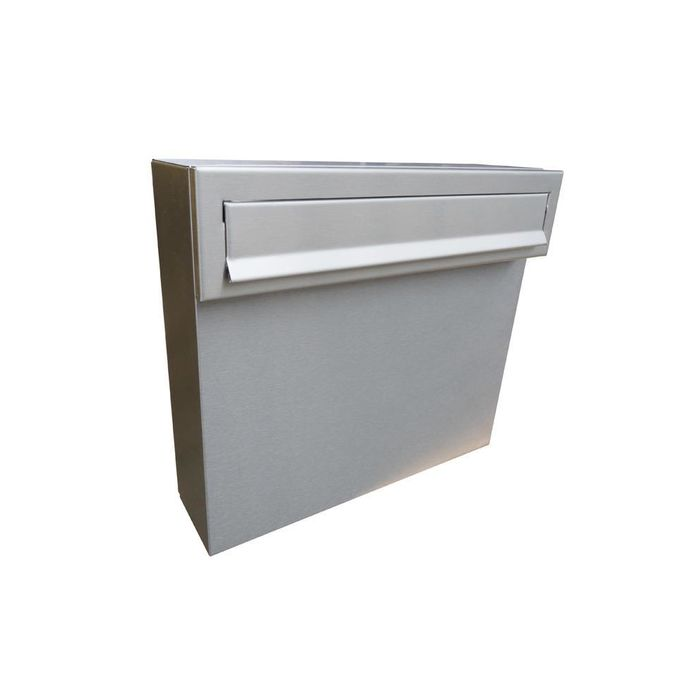 A-050 Stainless Steel Fence Pass-through Letterbox
