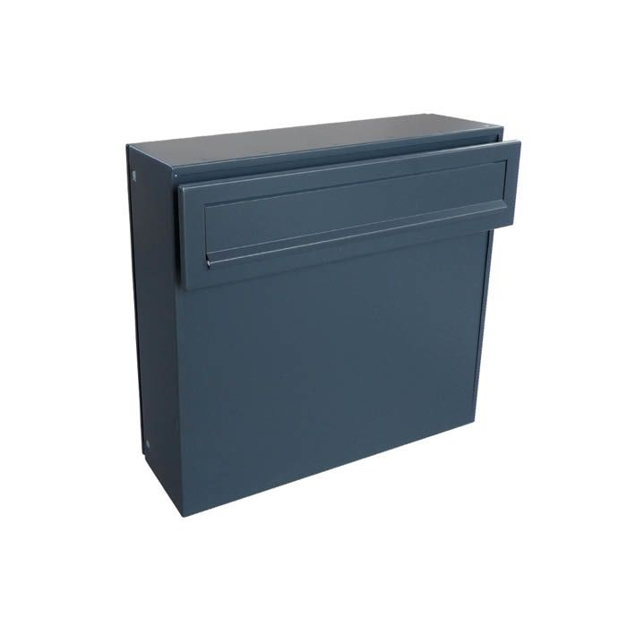 A-050 Anthracite Fence Pass-through Letterbox (RAL 7016)