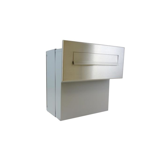 F-04 Stainless Steel Through the wall Letterbox (variable depth)
