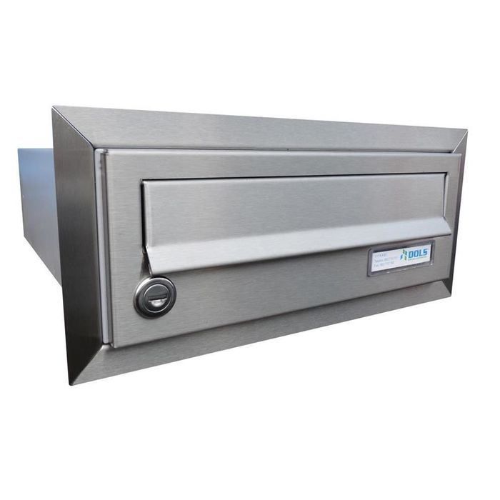 B-01 Stainless steel flush-mounted letterbox