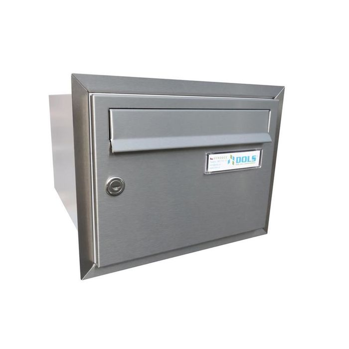 B-21 XXL Stainless steel flush-mounted letterbox
