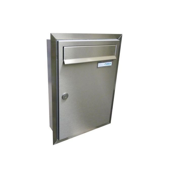 C-01 Stainless steel flush-mounted letterbox