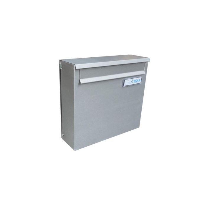 A-02 Stainless Steel Fence Pass-through Mailbox