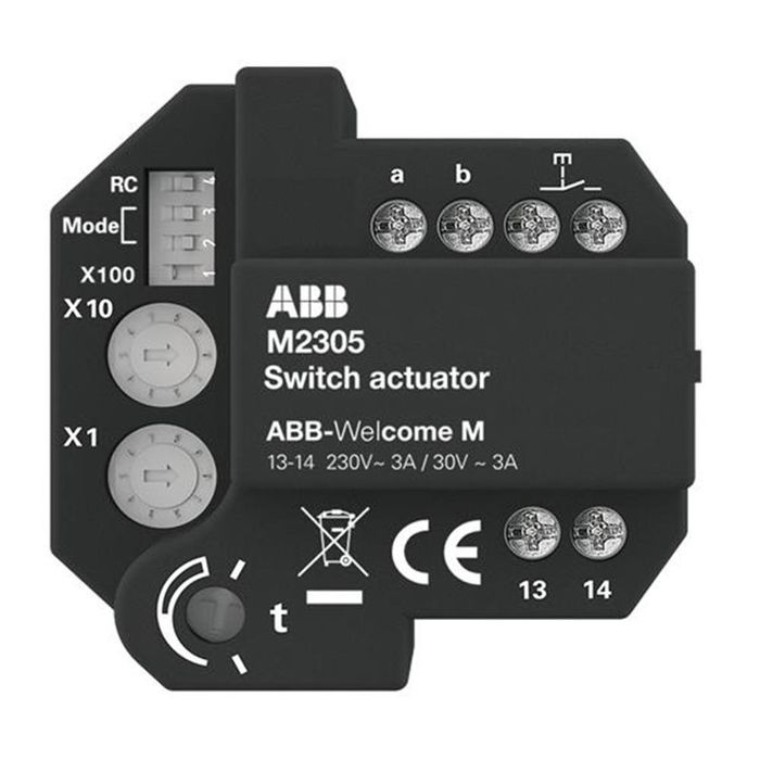 ABB -Welcome® switch actuator flush-mounted 83335 U