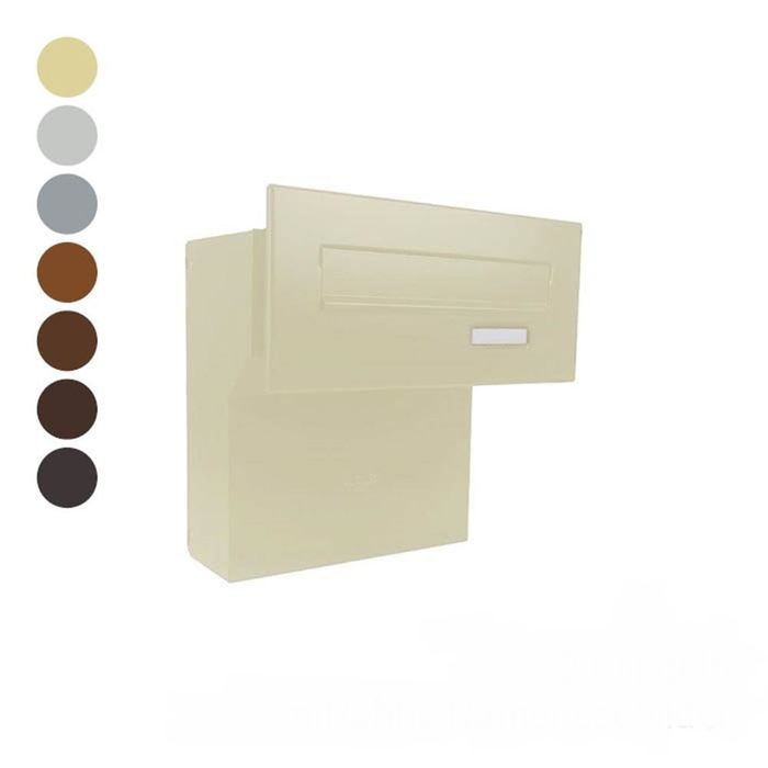 F-04 Through Wall letterbox in different RAL colours