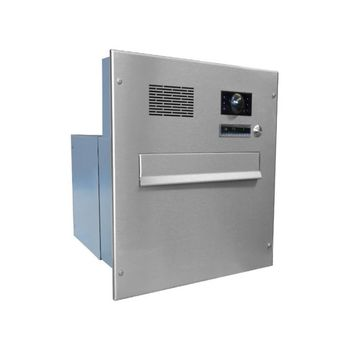 B-242 XXL Stainless Steel through wall Letterbox System...