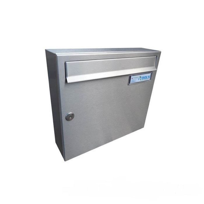 A-01 Surface-mounted stainless steel wall mailbox